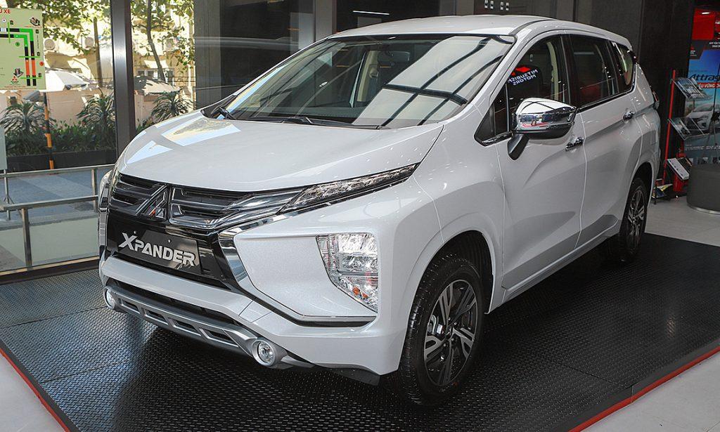 Tổng thể thiết kế bên ngoài của Mitsubishi Xpander 2021
