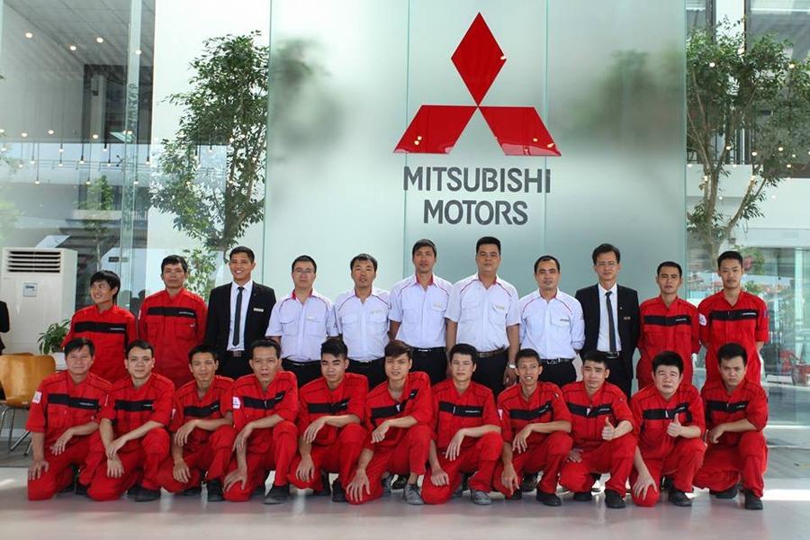 Đội ngũ dịch vụ Mitsubishi Đà Nẵng với tay nghề cao được đào tạo từ nhà máy Mitsubishi Việt Nam